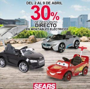 Sears Oferta Montables Eléctricos