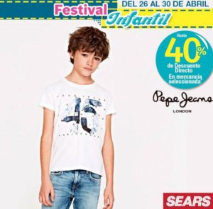 Sears Oferta Pepe Jeans