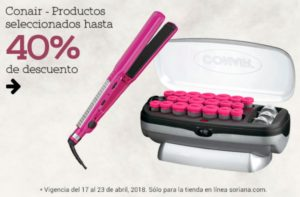 Soriana Oferta Productos Conair