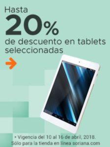 Soriana Oferta Tablets Seleccionadas