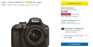 Best Buy Oferta Cámara Nikon D3400