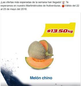 Chedraui Ofertas Frutas y Verduras Mayo 22