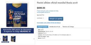 Costco Oferta Album Panini Rusia 2018 y Sobres