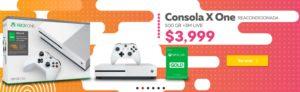 Elektra Oferta Xbox One S Reacondicionado