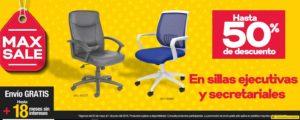 OfficeMax Oferta Sillas Ejecutivas y Secretariales