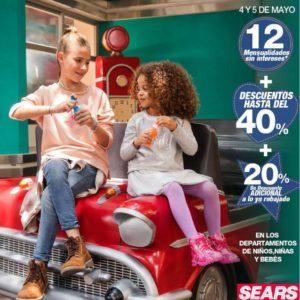 Sears Oferta Niños, Niñas y Bebés