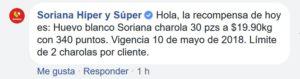 Soriana Oferta Huevo Blanco