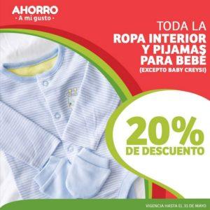 Soriana Oferta Ropa Interior y Pijamas