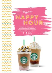 Starbucks Happy Hour Mayo 2018