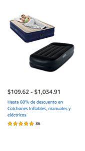 Amazon Oferta Colchones Inflables