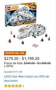 Amazon Oferta Lego Star Wars