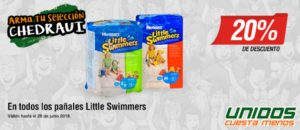 Chedraui Oferta Pañales Little Swimmers