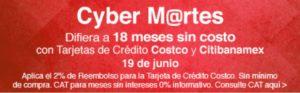 Costco Cyber Martes Banamex Junio 19