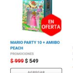 Gamers Oferta Mario Party