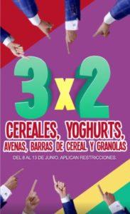Julio Regalado 2018 Ofertas Yoghurt y Cereal