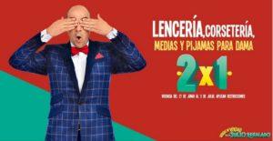 Julio Regalado 2018 Oferta Lencería, Corsetería, Medias y Pijamas