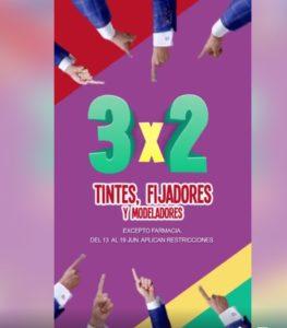 Julio Regalado 2018 Oferta Tintes, Fijadores y Modeladores