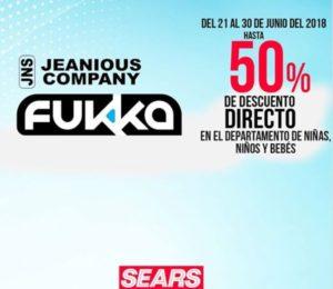 Sears Oferta Jeanious Company y Fukka