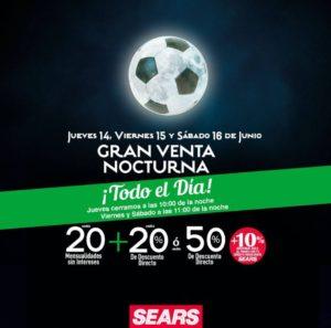 Sears Venta Nocturna