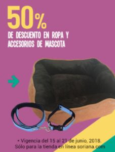 Soriana Oferta Ropa y Accesorios para Mascota