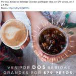 Starbucks Promoción Bebidas Grandes