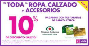 Suburbia Promoción Banco Azteca