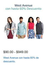 Amazon Oferta Ropa West Avenue