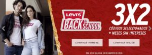 Levi's Ofertas Back to School