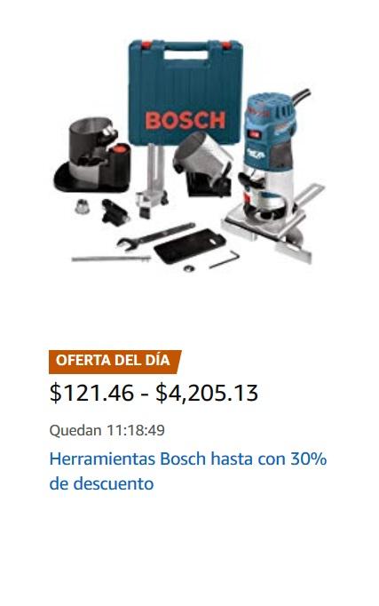 Amazon Oferta Herramientas Bosch