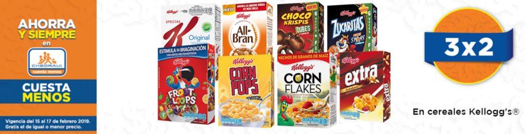 Chedraui Oferta Cereales Kellog's