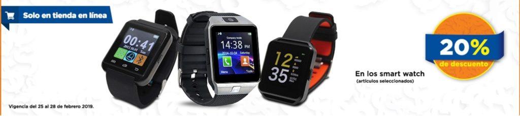 Chedraui Oferta Smartwatch Seleccionados
