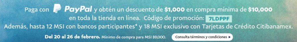 Costco Promoción PayPal Febrero 20