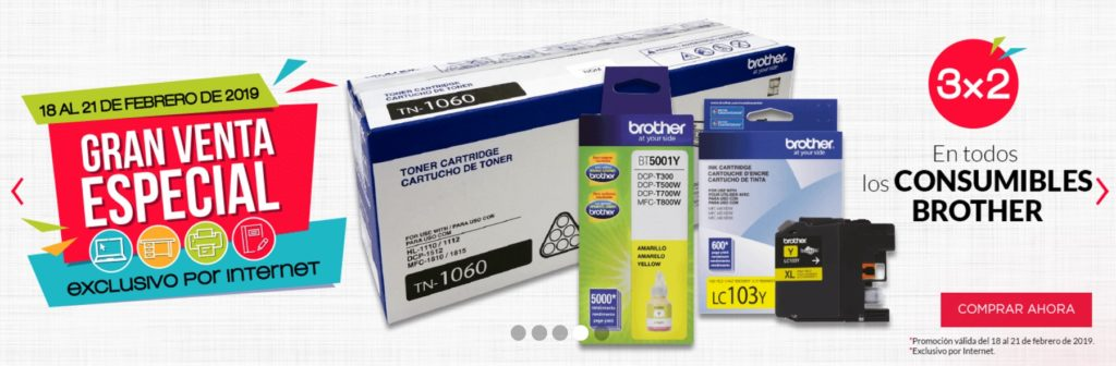 Office Depot Oferta Consumibles Brother