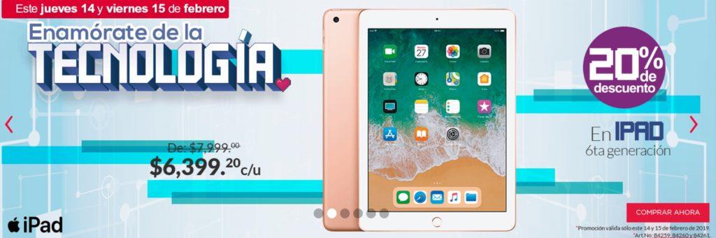 Office Depot Oferta iPad 6ta Generación