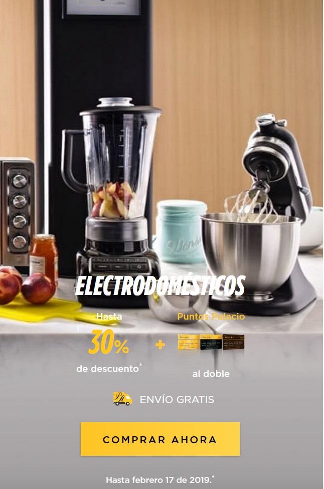 El Palacio de Hierro Oferta Electrodomésticos Febrero 12