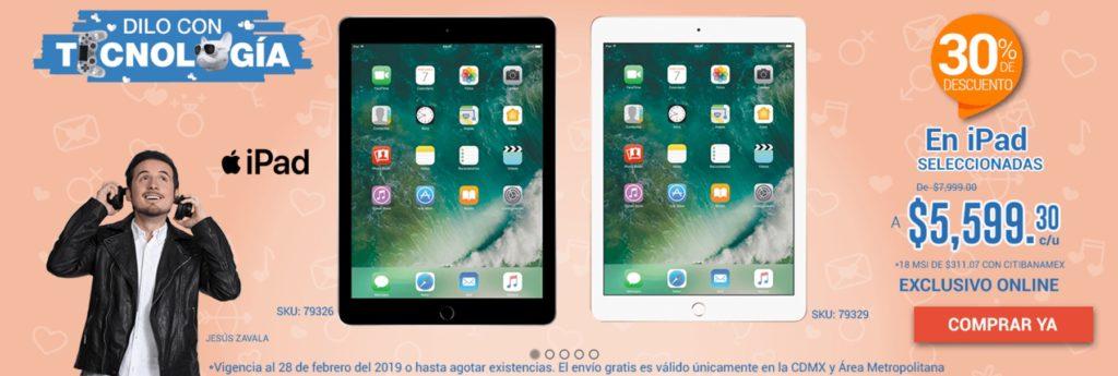 RadioShack Oferta iPads Seleccionadas