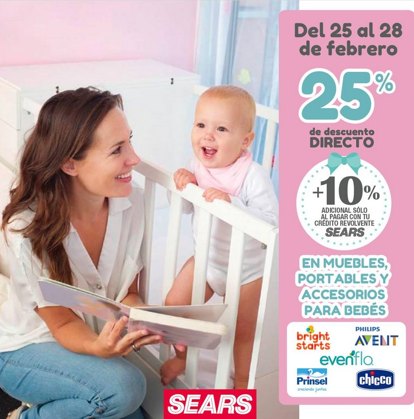 Sears Oferta Muebles y Accesorios para Bebé