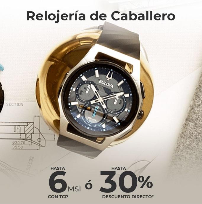 Sears Oferta Relojes para Caballero