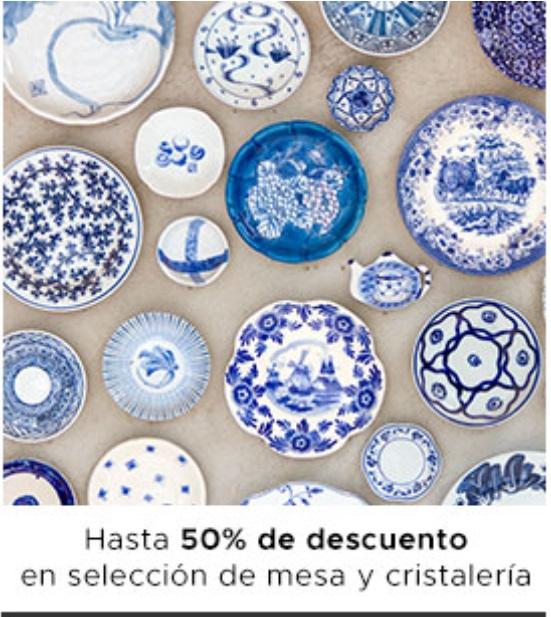Soriana Oferta Selección de Mesa y Cristalería