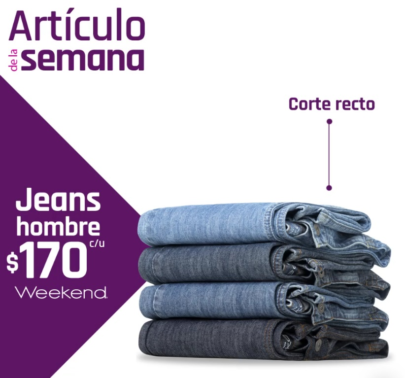 Suburbia Oferta Jeans Weekend Hombre