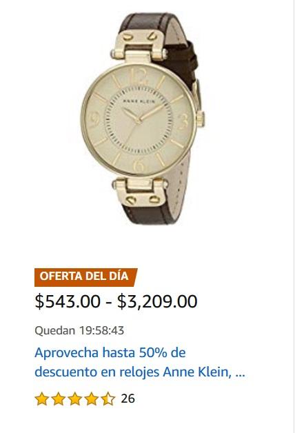 Amazon Oferta Relojes Anne Klein