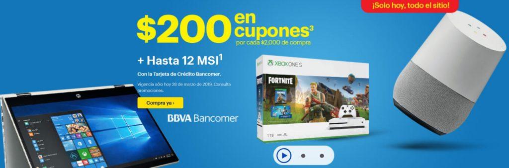Best Buy Promoción Cupones Con TC Bancomer