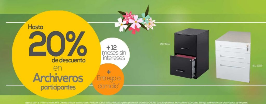 OfficeMax Oferta Archiveros