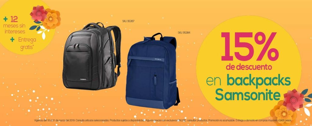 OfficeMax Oferta Backpacks Samsonite