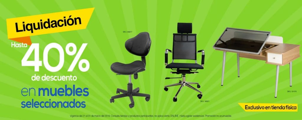 OfficeMax Oferta Muebles Seleccionados