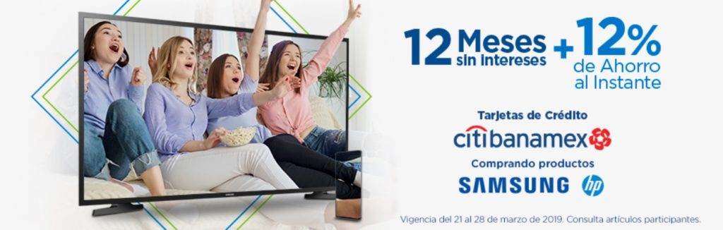 Sam's Club Promoción Citibanamex