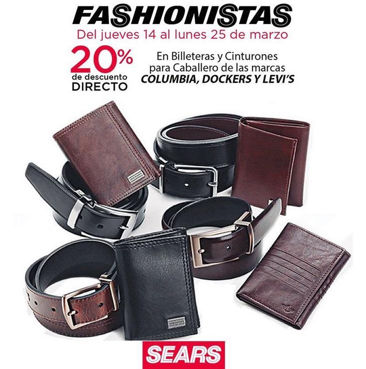 Sears Oferta Billeteras y Cinturones Marcas Seleccionadas