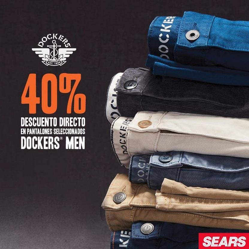 Sears Oferta Pantalones Dockers