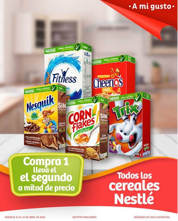 Soriana Oferta Cereales Nestlé