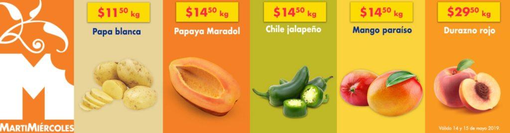 Chedraui Ofertas Frutas y Verduras Mayo 14
